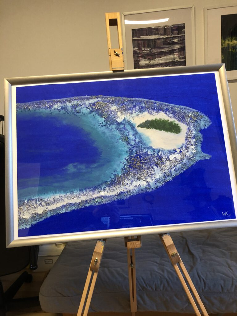 Blaue Insel - Malediven